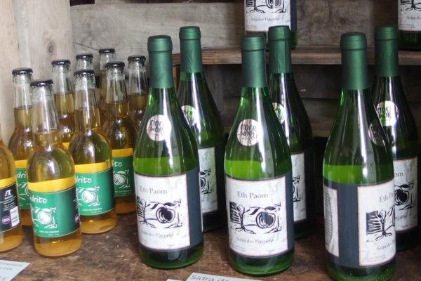 ampolles de sidra Arantast